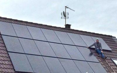 Installation photovoltaïque à Metz