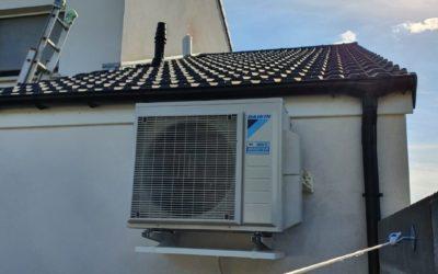 Pose de pompe à chaleur air-air à Metz