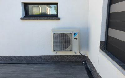 Pose de pompe à chaleur air-eau à Metz